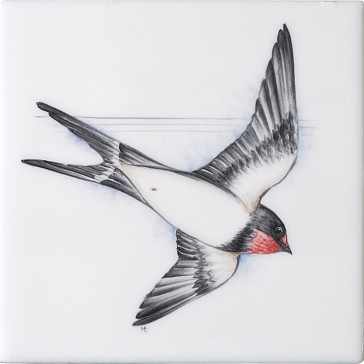 Swallow 1 by Marlborough Tiles