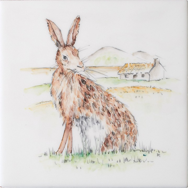 Hare 12 by Marlborough Tiles