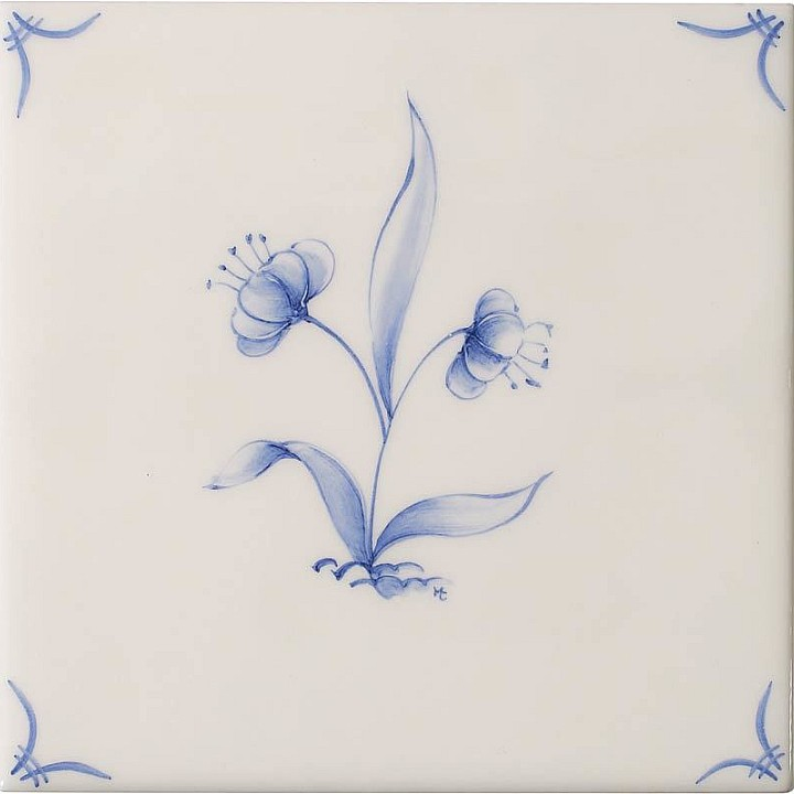 Flowers 4 by Marlborough Tiles