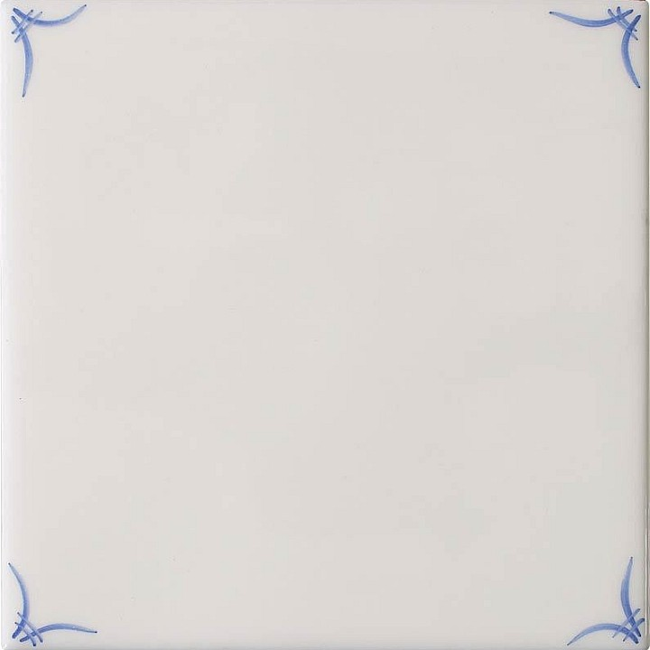 Classic Delft Corner Motif by Marlborough Tiles