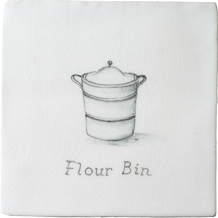 Flour Bin 11 by Marlborough Tiles