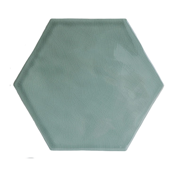 Trafalgar Hexagon Gloss by Marlborough Tiles