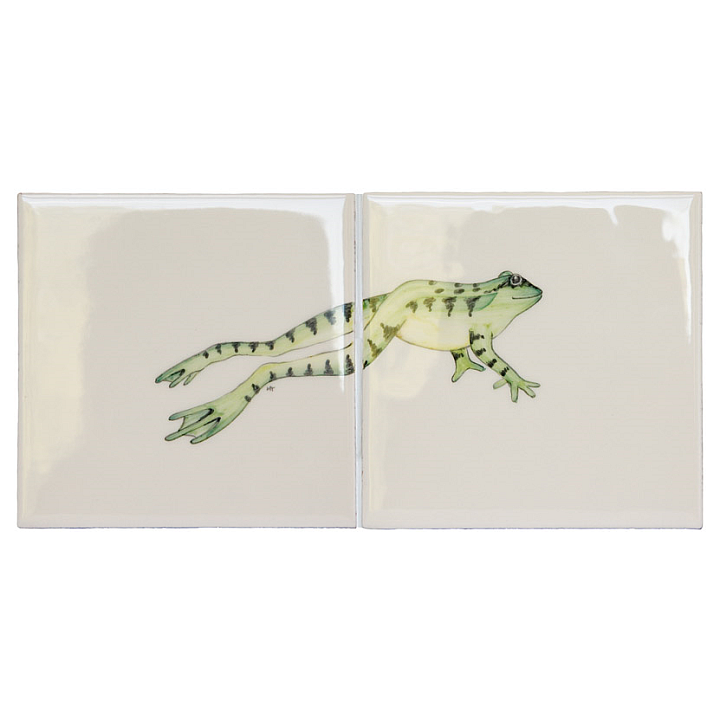 Frog 3 Panel by Marlborough Tiles