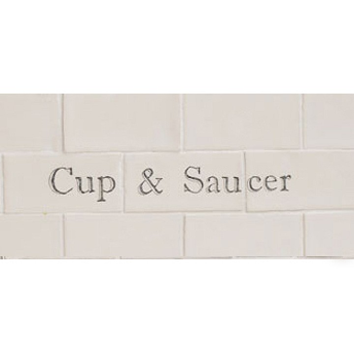 Cup & Saucer by Marlborough Tiles