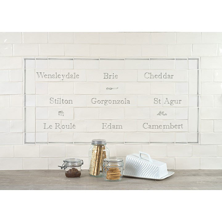 Cheese Board Panel with Cheese Decors