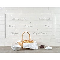 Afternoon Tea Panel with Diamond Decors
