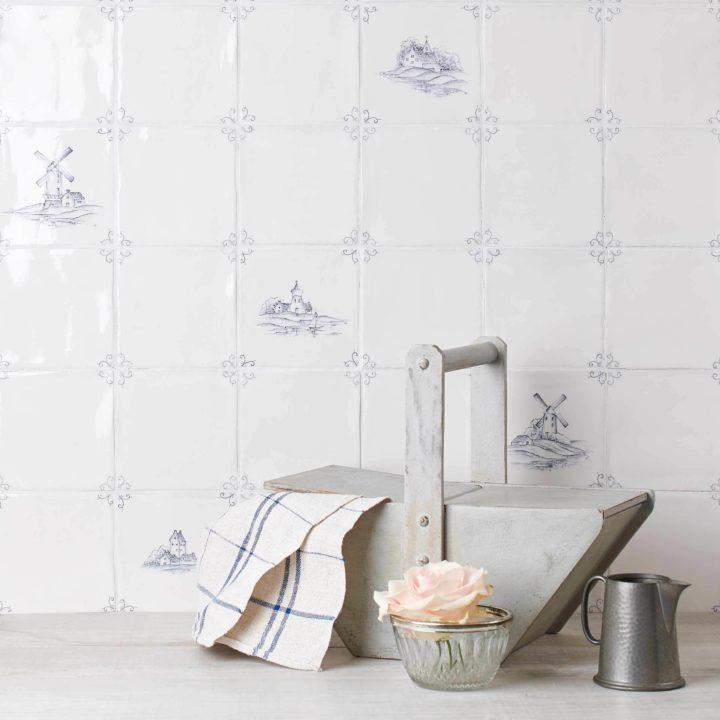 Buy Hand Painted Artisan Wall Tiles Marlborough Tiles