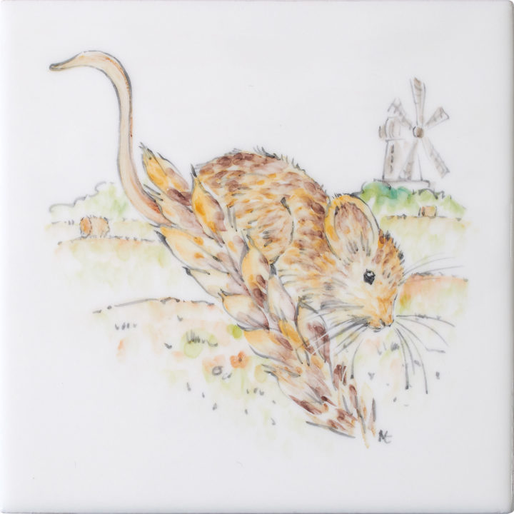 Harvest Mouse 7 by Marlborough Tiles