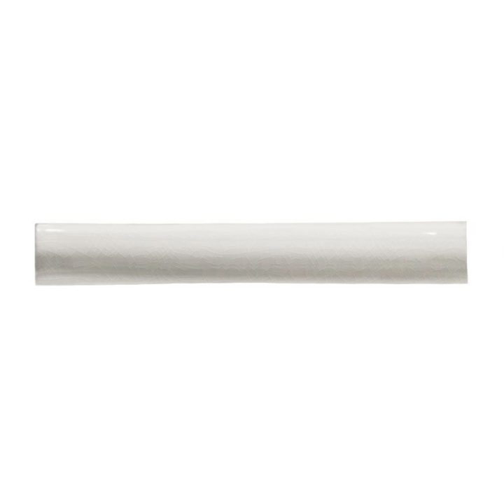 Chalk White 1/2 Round by Marlborough Tiles