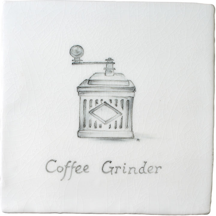 Coffee Grinder 9 by Marlborough Tiles